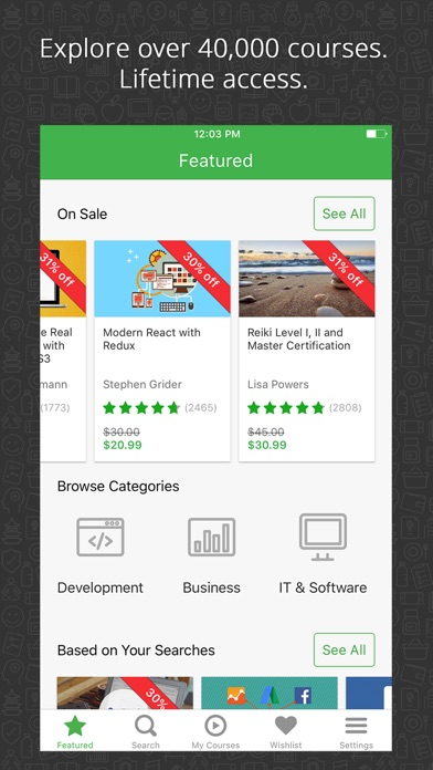 Udemy Online Courses - Learn Anything, Anywhere app image