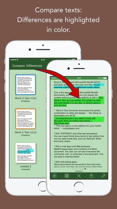 Screenshot #10 for Word-2-Text Converter