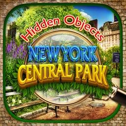 Hidden Objects Central Park New York City Gardens