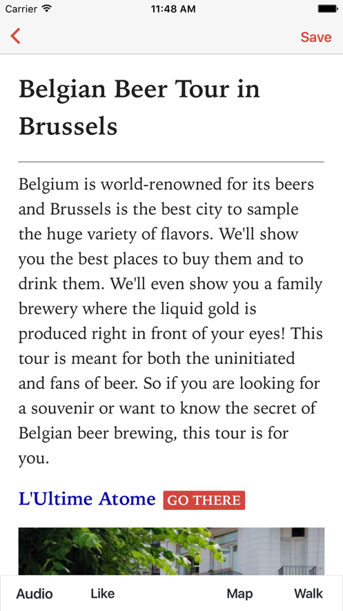 Belgian Beer Tour in Brussels App 截图