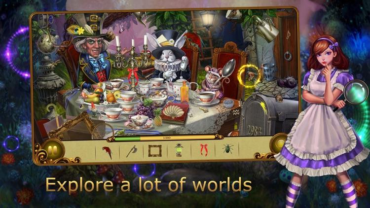 Alice's adventures: hidden objects in Wonderland screenshot-3