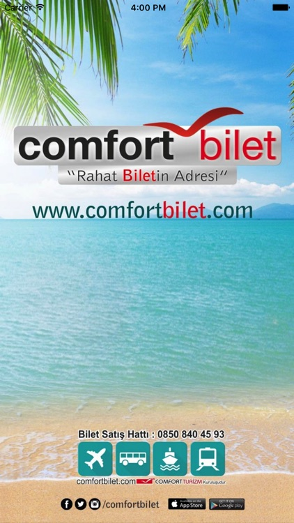 Comfort Bilet