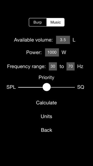 Woofer Box Calculator PRO