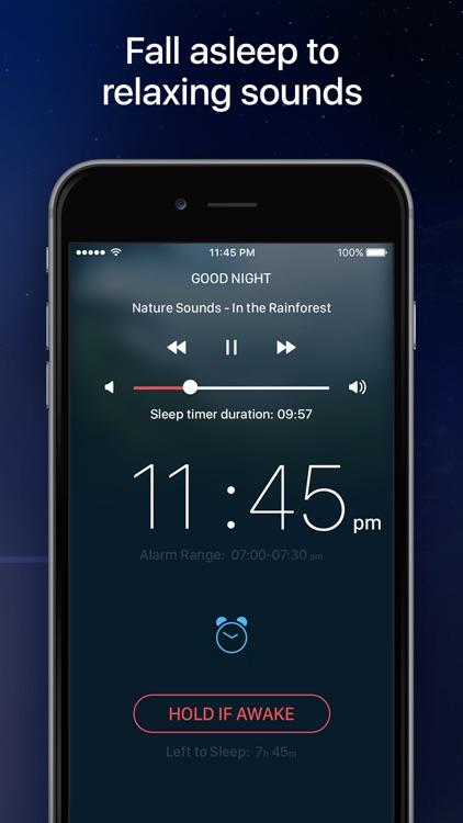 Good Morning Alarm Clock - Sleep Cycle Tracker screenshot-3