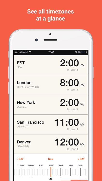 TimeSnap - Time Zone Converter, World Clock