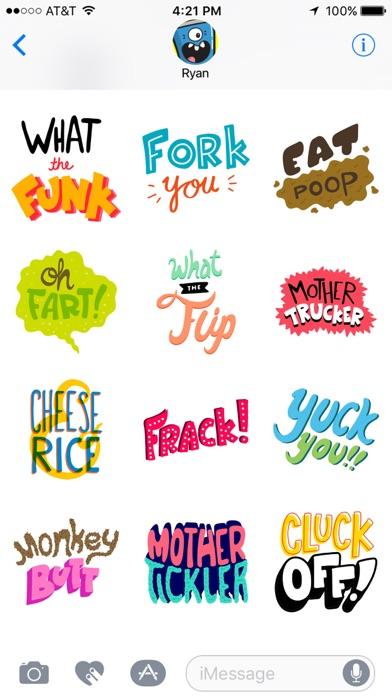 SFW Swearing