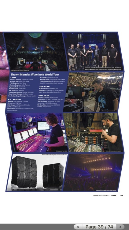 FRONT of HOUSE (FOH) Magazine screenshot-4