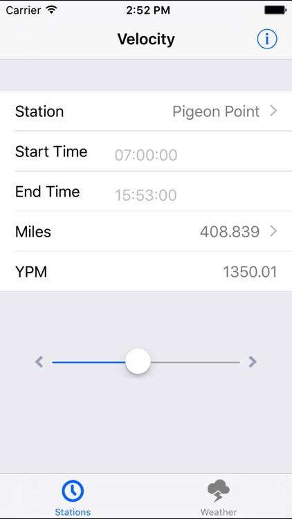 flightControlRP - Pigeon Racing YPM Calculator