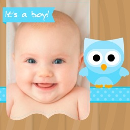 Baby photo frames edit and create beautiful cards