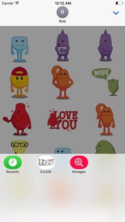 SJUOK? Stickers screenshot-4