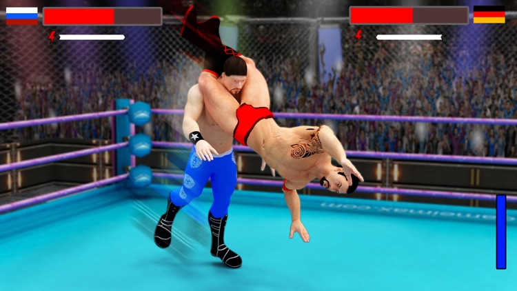 Stars Wrestling Revolution 2017: Real wrestlers screenshot-3