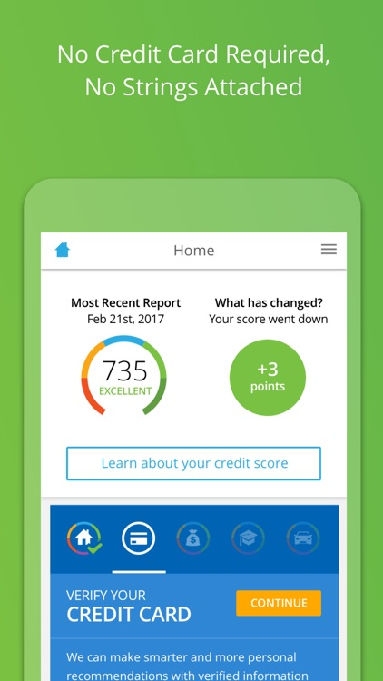 My LendingTree: Credit Score Report & Alerts screenshot-0