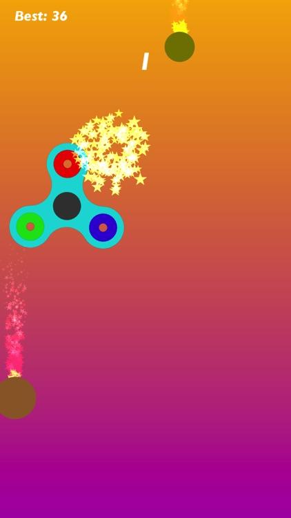Spinny Fidget Spinner: Stress Relief Finger Wheel