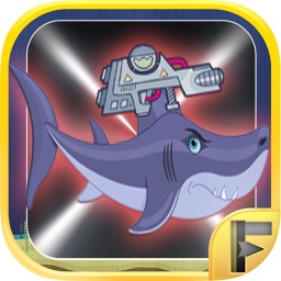 Shark Shooter Attack - Undersea War Battle