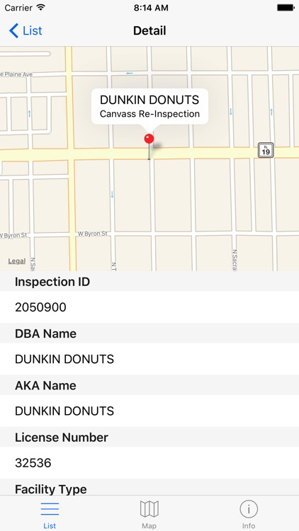 Chicago Food Inspections - Restaurant Insp. Scores screenshot-4