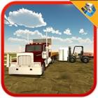 Camion transporteur en acier sim - conduite 3D icon