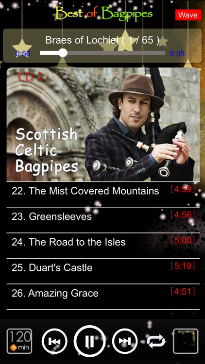 [4 CD] Scottish bagpipes screenshot-4