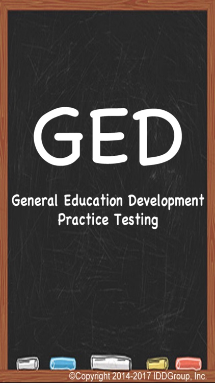 GED - General Educational Development Practice