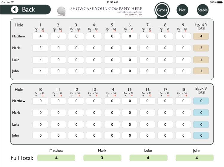 Hawarden Golf Club - Buggy screenshot-4