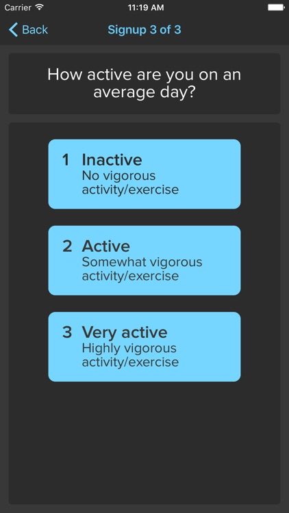 ActiveDay – Activity Tracking Study