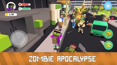 Blocky Zombie Simulator screenshot 2