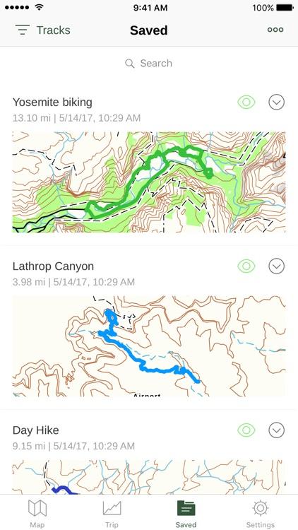 Gaia GPS: Topo Maps and Hiking Trails screenshot-3