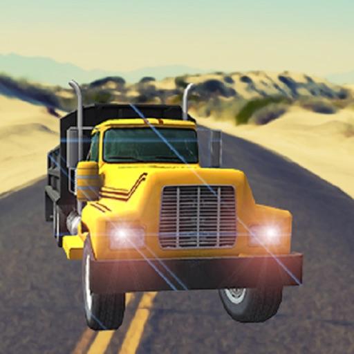 Cargo Truck Drive-Desert Truck Simulator 3D