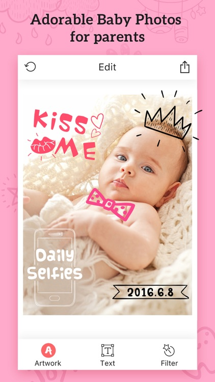Baby Photos – Pregnancy Pic Maker & Baby Milestone