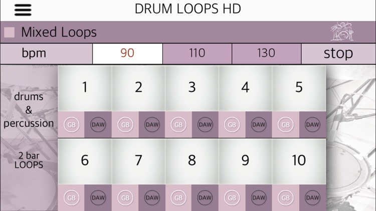 Drum Loops HD screenshot-4