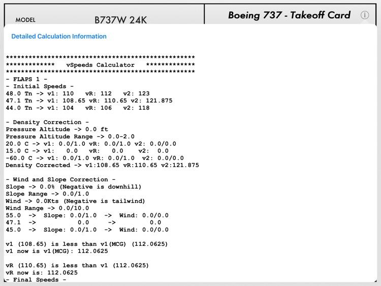 Takeoff Analysis screenshot-4
