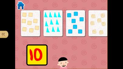 宝宝数学思维脑力开发-幼儿点数游戏 screenshot one