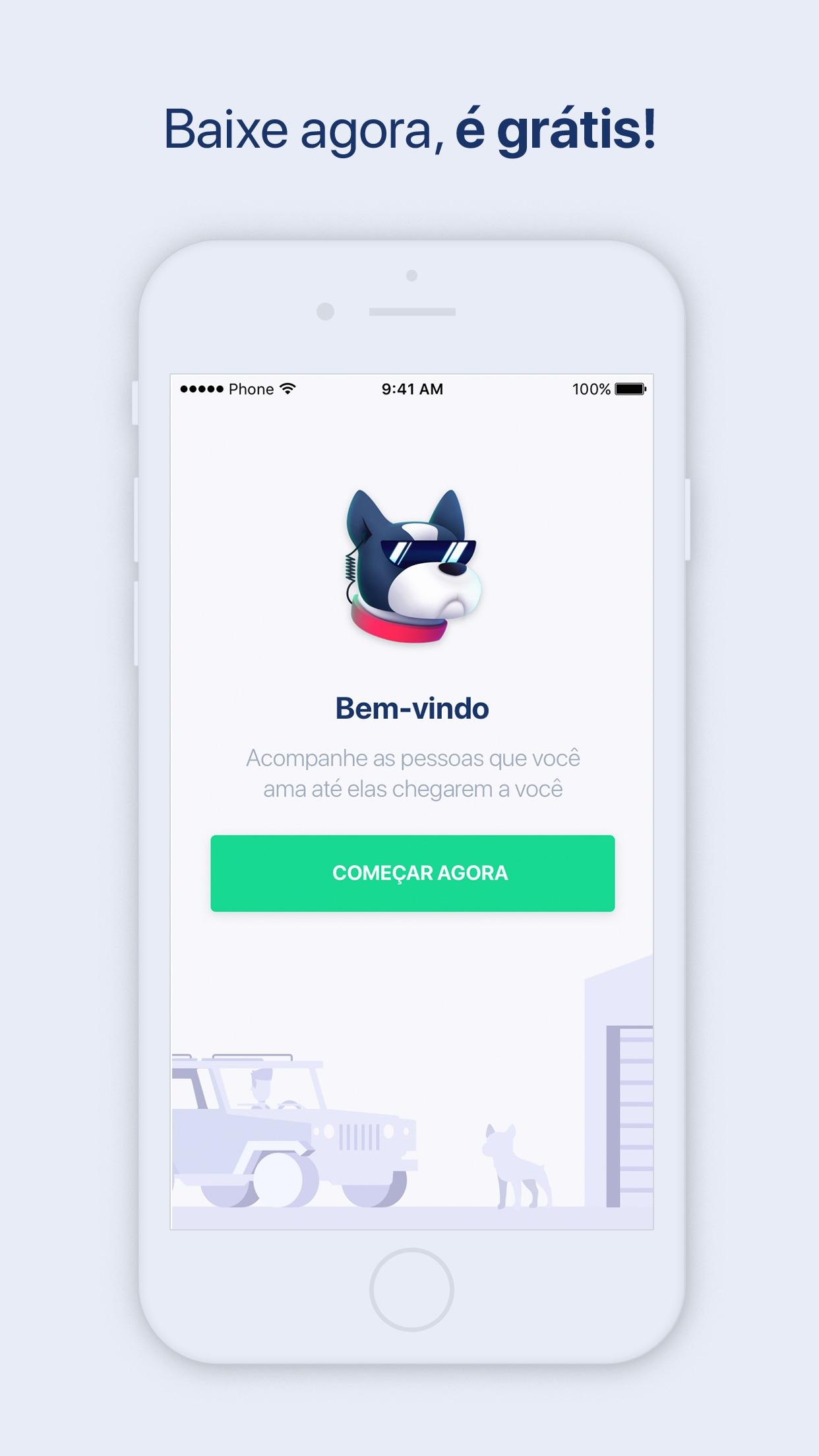 Screenshot do app Echo Tracking