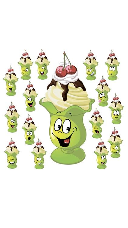 Ice cream SP emoji stickers