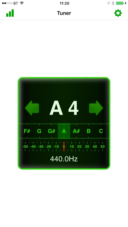 In-Tune Instrument Tuner screenshot-2