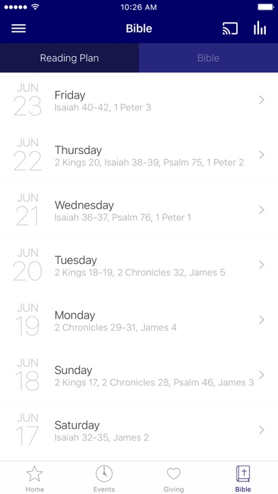 Virginia District UPCI screenshot 3