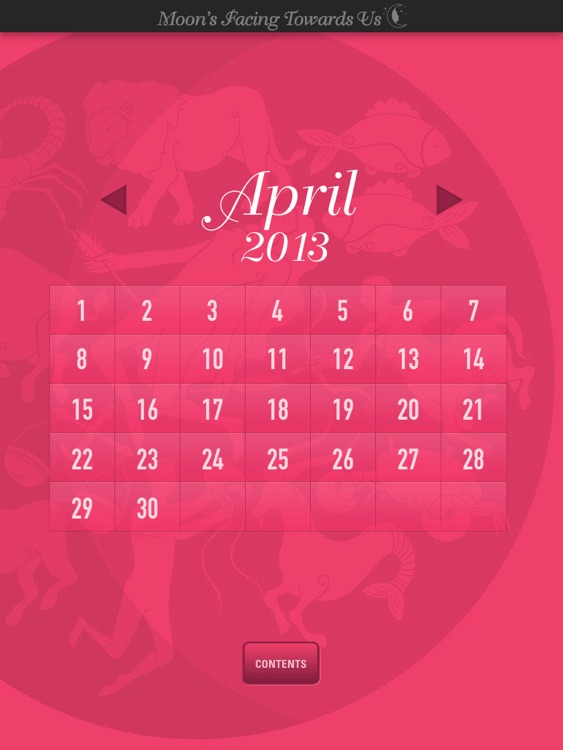 Lunar Calendar '13 screenshot-2
