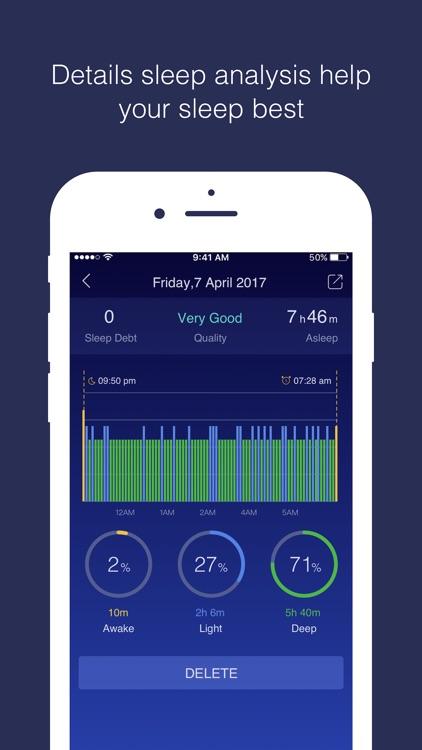 Sleep Care Monitor Track Amp Analysis Sleep Cycle By