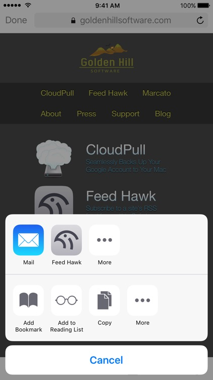 Feed Hawk screenshot-1