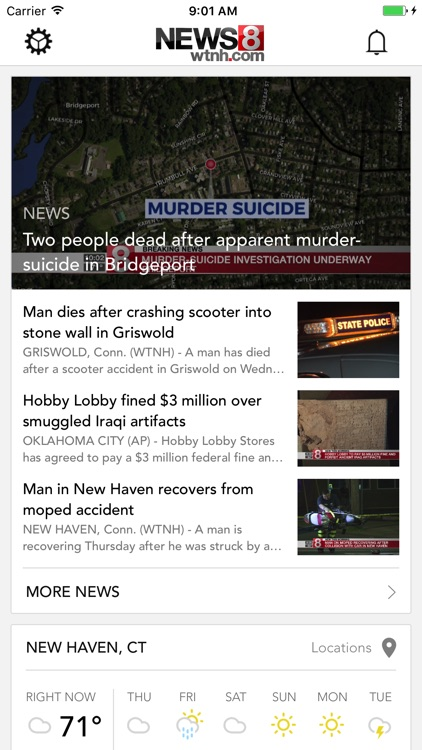 WTNH News 8 screenshot-0