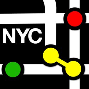 New York City Subway Map Navigation app