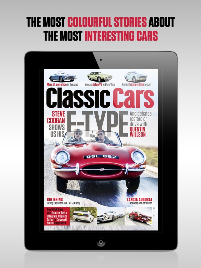 Classic Cars Magazine on the App Store