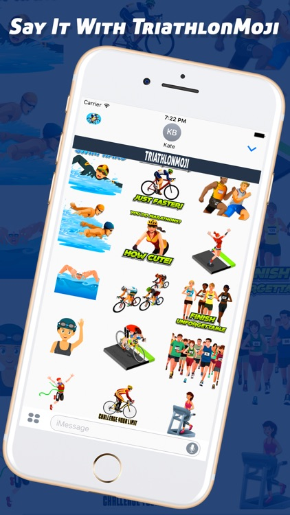 TriathlonMoji - Triathlon Emoji Keyboard