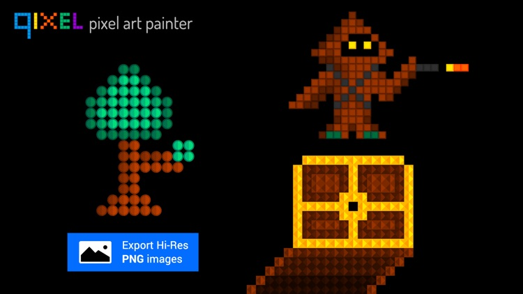 Qixel HD : Pixel Art Painter screenshot-4