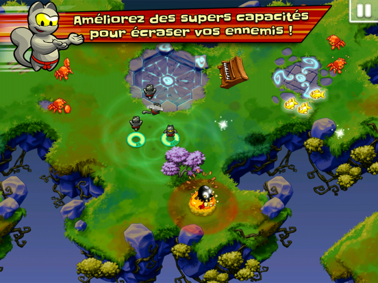 Screenshot #6 pour Ninja Hero Cats