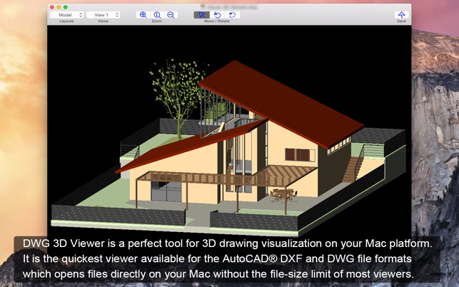 autocad 3d viewer for mac
