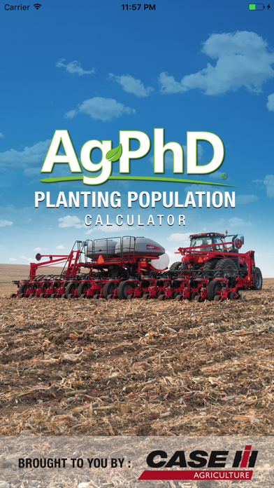 Planting Population Calculator screenshot one