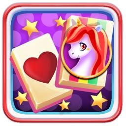 Emoji Mahjong - Rainbow Unicorn Adventure Quest