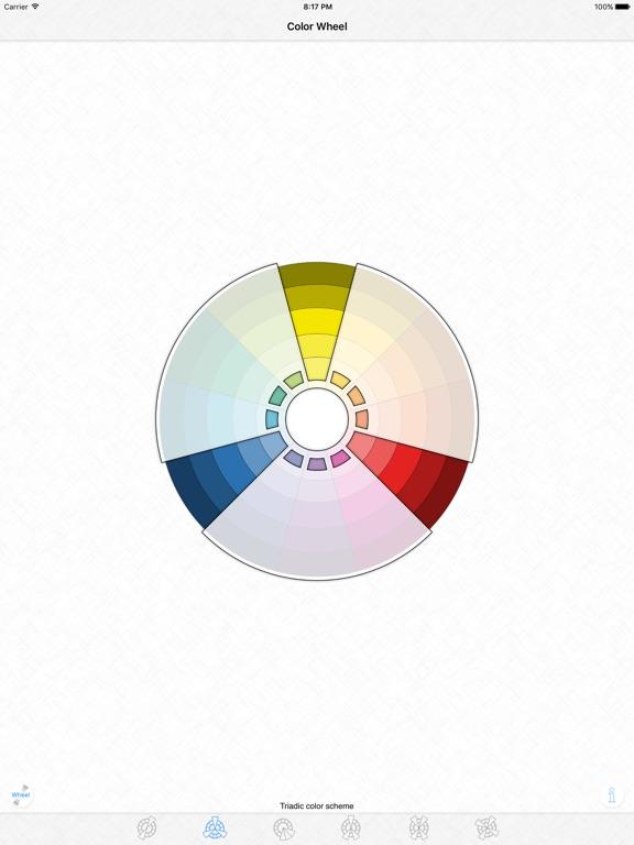 Color Wheel Basic Color Schemes App Price Drops