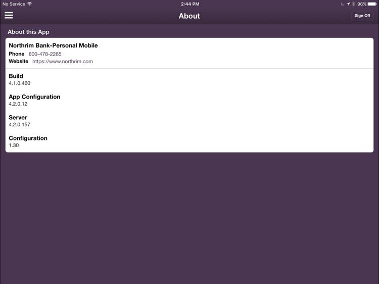 Northrim Bank -Personal Tablet screenshot-4