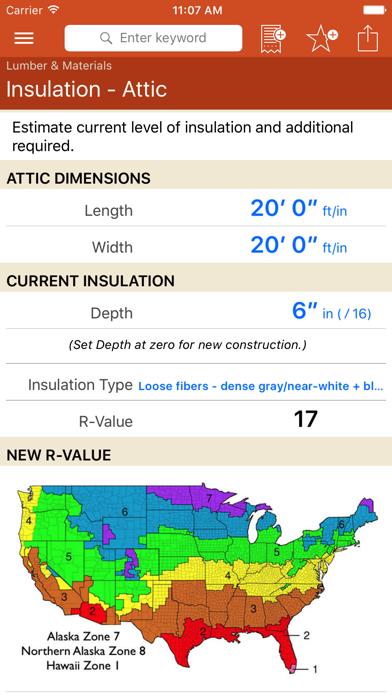 Home Improvement Calcs review screenshots